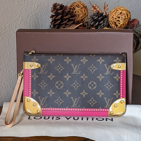 Louis Vuitton Handbags - LV Monogram Summer Trunk Pouch Limited Edition